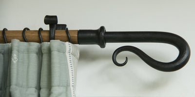 Wrought Iron Shepherd's Crook Finial
