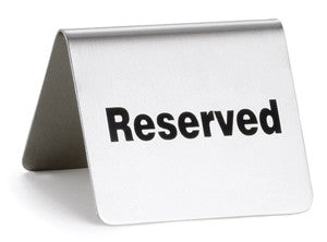Reserved for Jesse