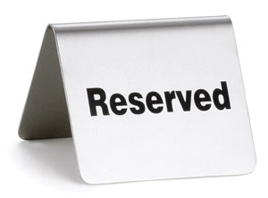 Reserved for Martha
