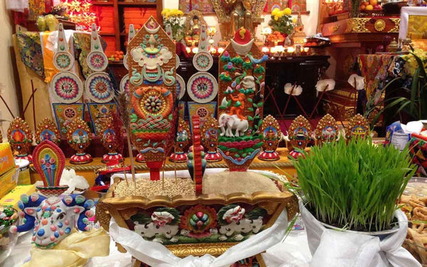 Losar: Celebrating the New Year 2148, the Tibetan Way-The Little Tibet