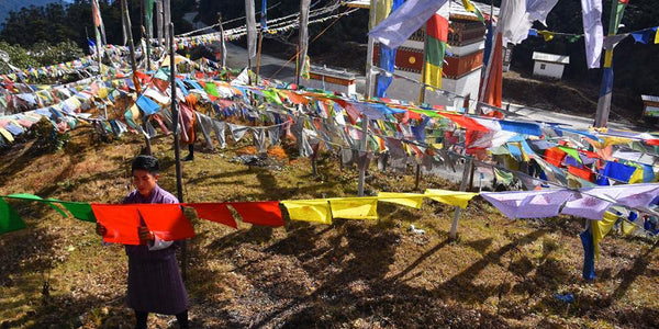 Tibetan Prayer Flags: The lesser known facts-The Little Tibet