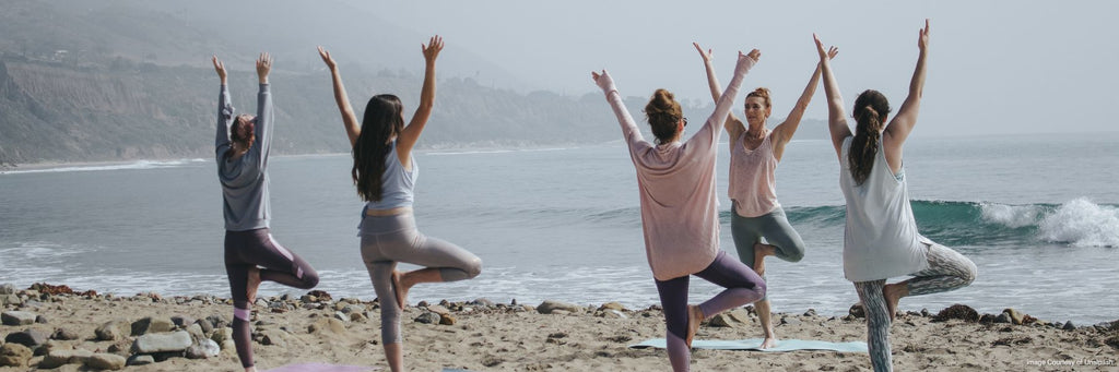 Yoga by the sea - The Little Tibet