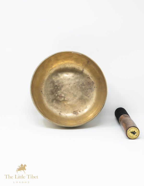 Antique Tibetan Singing Bowl-Healing Bowl-Himalayan Bowl for Meditation-R19