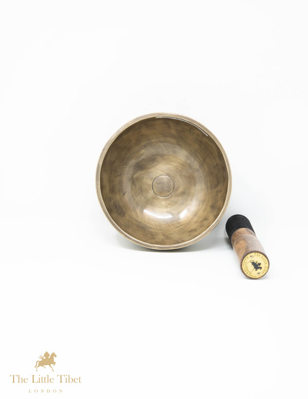 Full Moon Tibetan Singing Bowl for Healing - Sound therapy bowl- Himalayan bowl for yoga -YD108