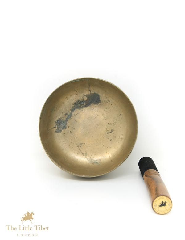 Antique Tibetan Singing Bowl-Healing Bowl-Himalayan Bowl for Meditation-ATQ66 - The Little Tibet