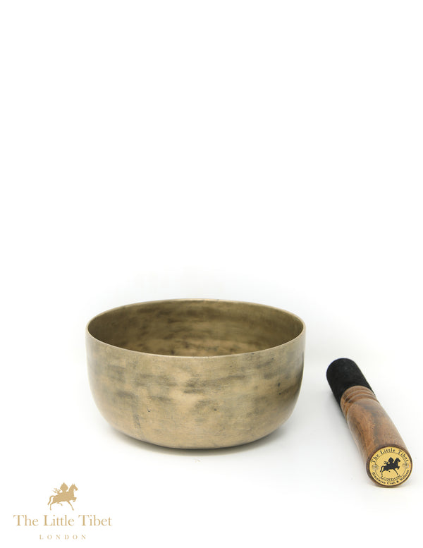 Antique Tibetan Singing Bowl-Healing Bowl-Himalayan Bowl for Meditation-ATQ36 - The Little Tibet