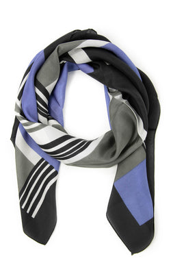 Rosa square silk scarf -SQ207, The Little Tibet