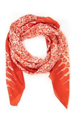 Eveline square silk scarf - SQ2010, The Little Tibet
