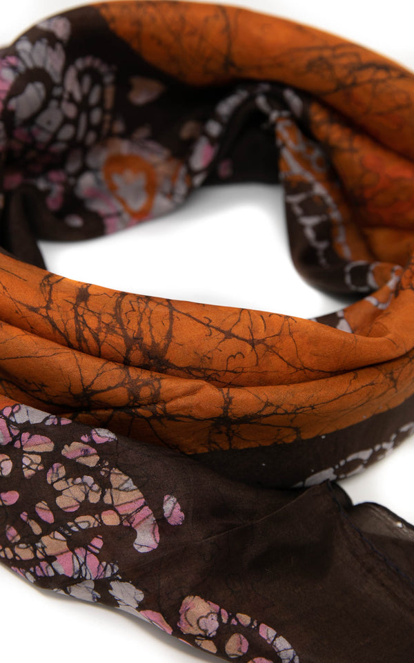 Clarissa square silk scarf - SQ2016, The Little Tibet