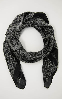 Minnie square silk scarf -SQ2027
