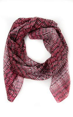 Susannah square silk scarf -SQ2033, The Little Tibet