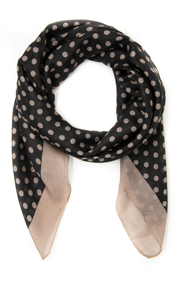 Irene square silk scarf-SQ2034
