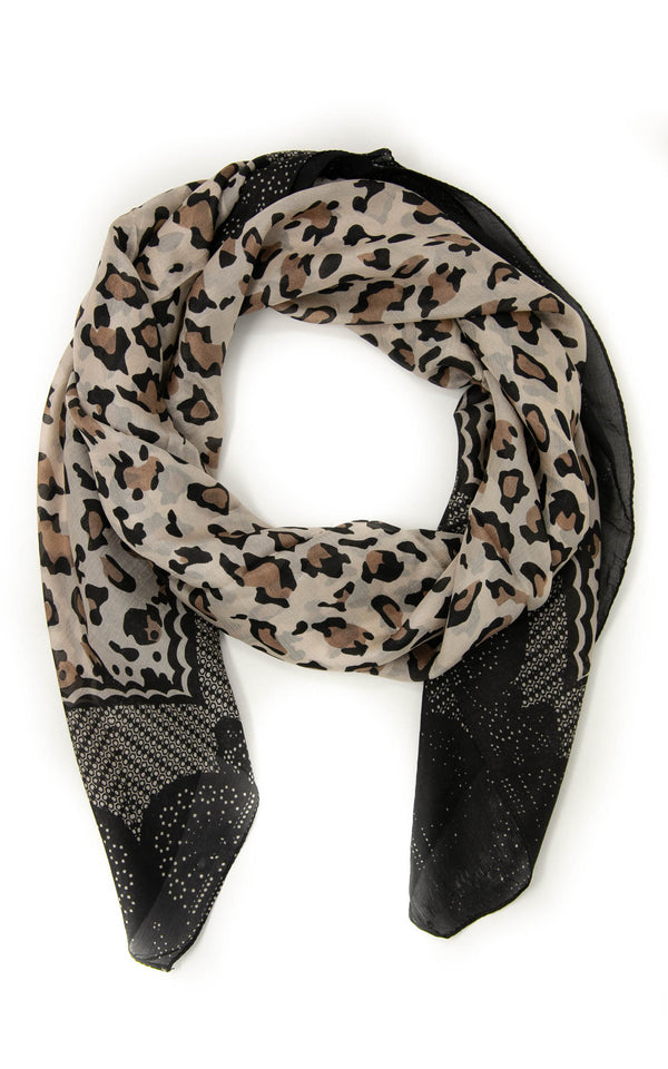 Mercy square silk scarf-SQ2043A