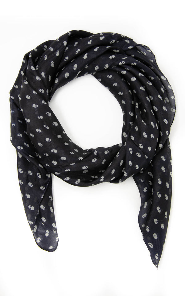 Margaret square silk scarf-SQ2045