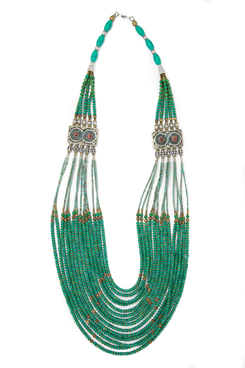 Lucy Turquoise Necklace, The Little Tibet
