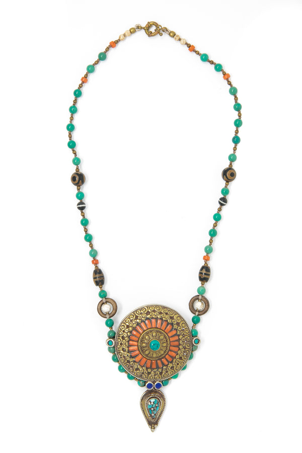 Tillie Tibetan Necklace