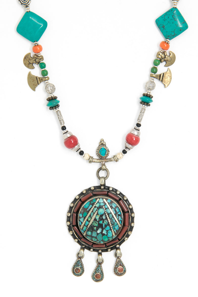 Rosie Beaded Long Necklace, The Little Tibet