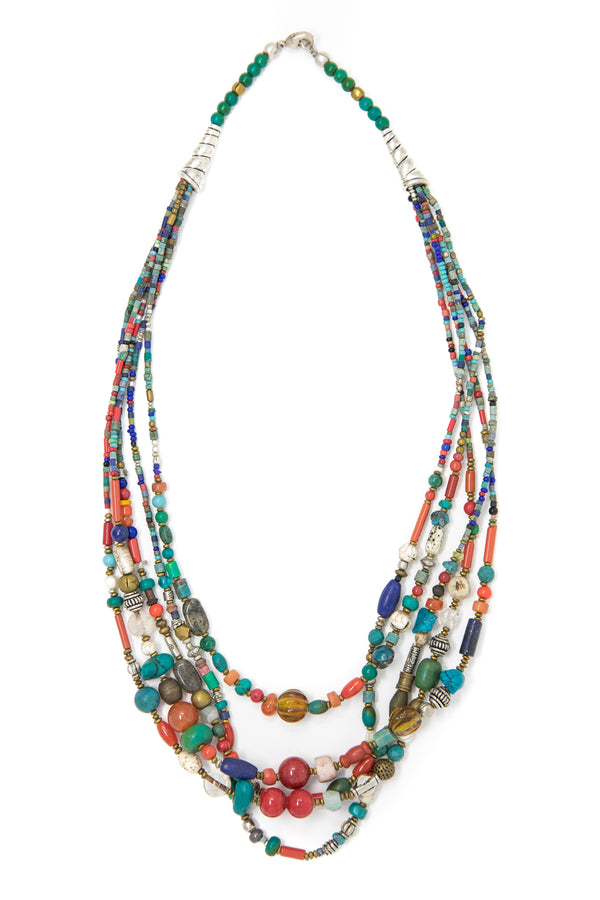 Ottilie Multistring Necklace