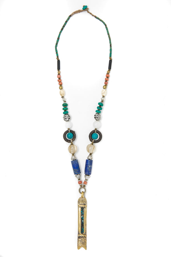 Alma Beaded Necklace, The Little Tibet