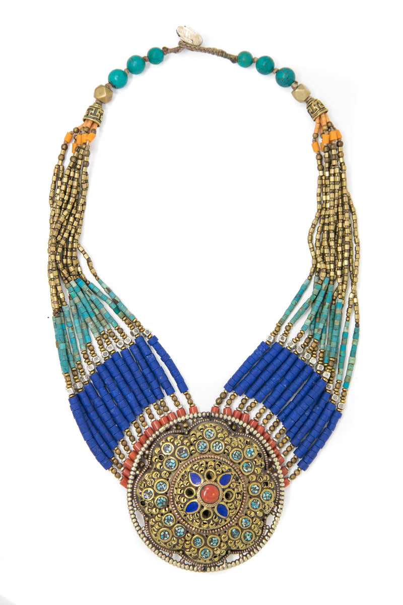 Nora Multistring Necklace, The Little Tibet