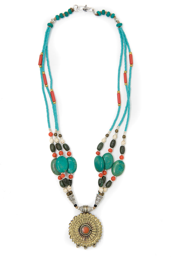 Victoria Beaded Necklace, The Little Tibet
