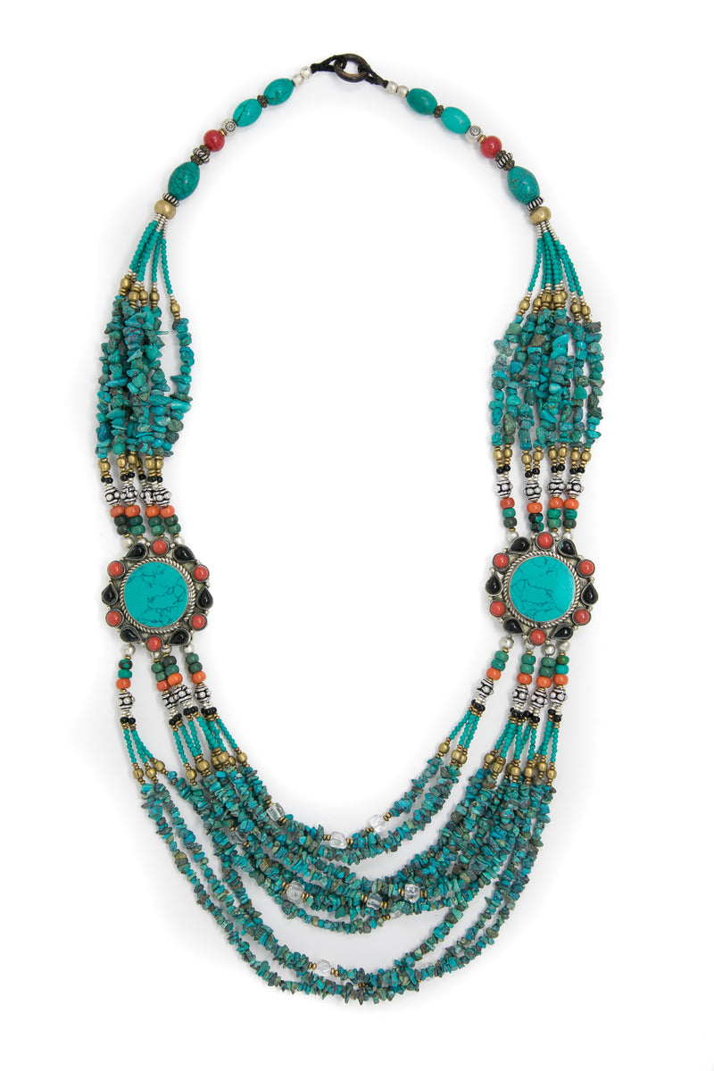 Henrietta Turquoise Necklace, The Little Tibet