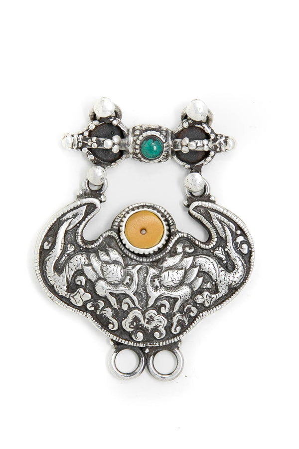 Tibetan Dragon Unique Pendant, The Little Tibet