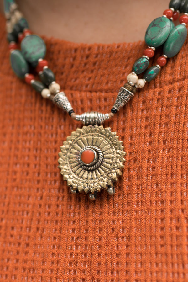 Victoria Beaded Necklace