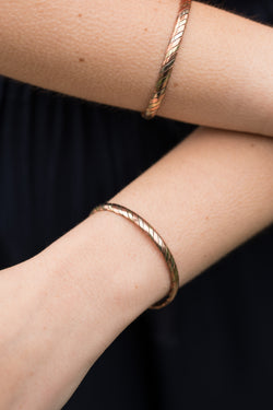 Healing Slanted Stripes Bangle
