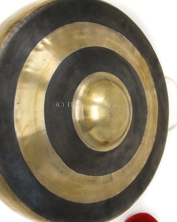 Gong, plain and original colour, The Little Tibet