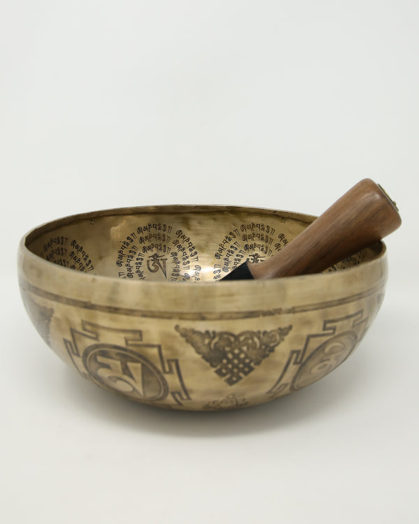Limited Edition Tibetan Singing Bowl-EB11