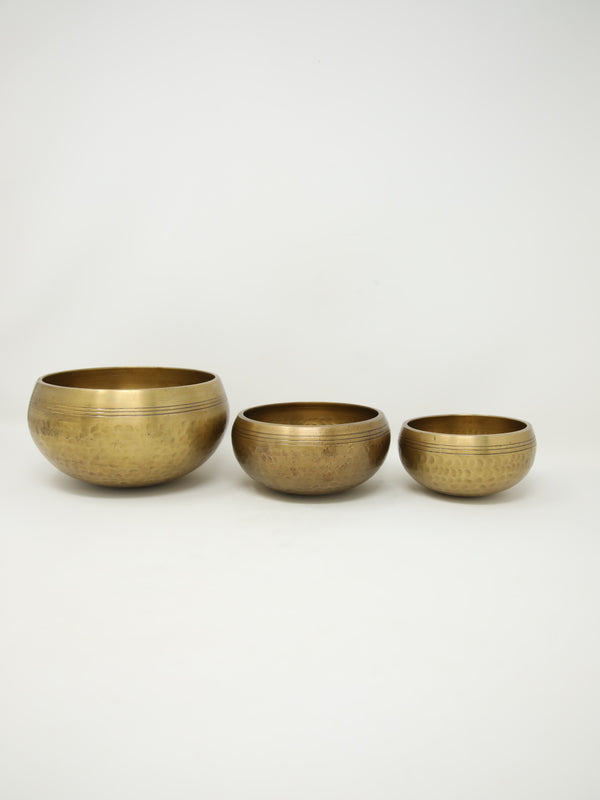 Medium Tibetan Brass Singing Bowl