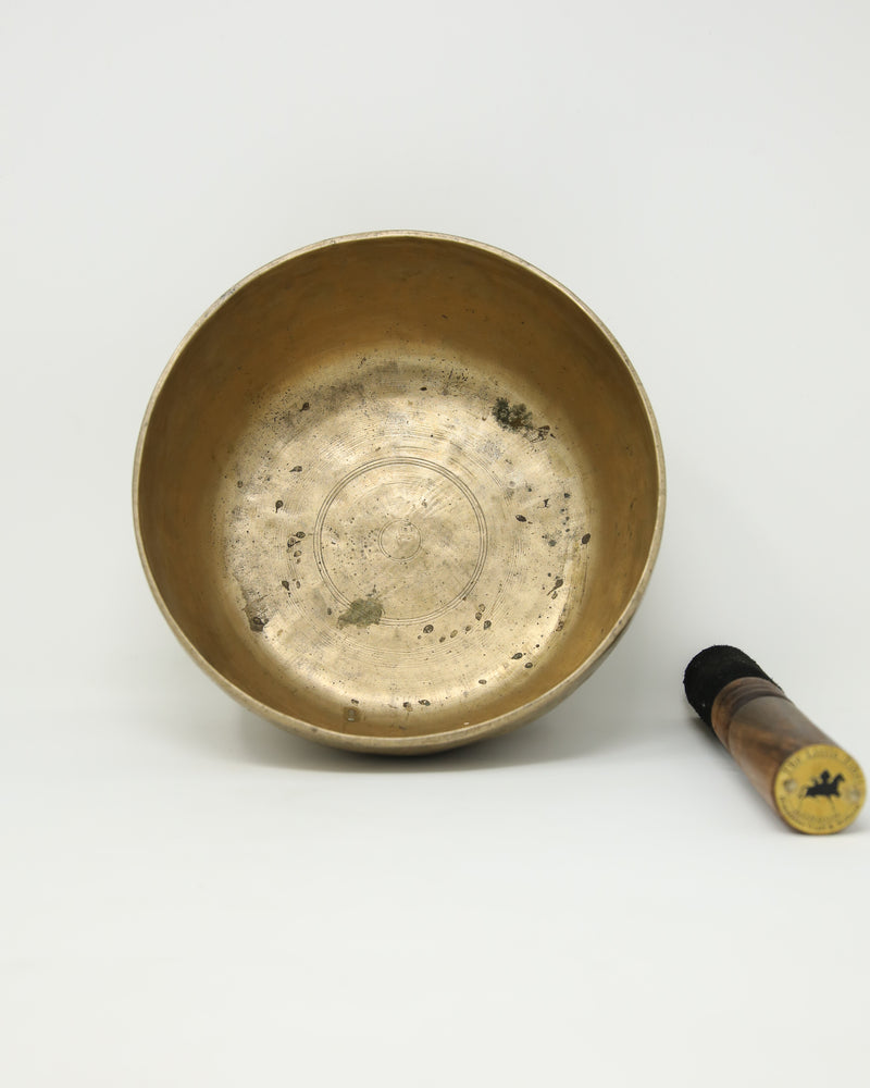 Antique Tibetan Singing Bowl-R27