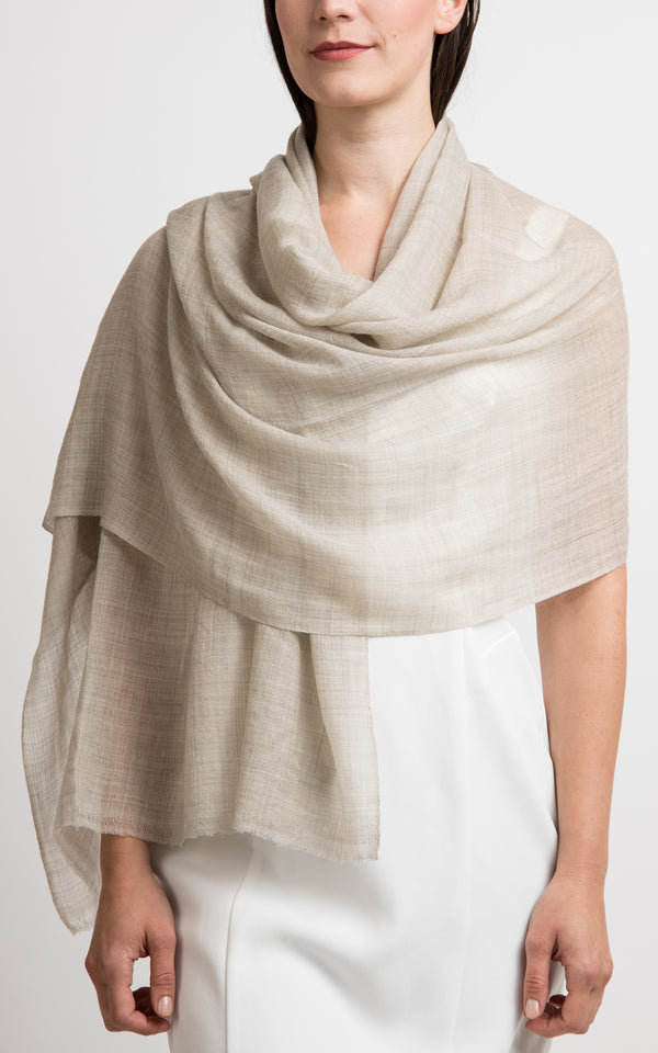 Diamond design fine cashmere scarf, The Little Tibet