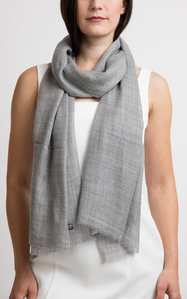 Diamond design fine cashmere scarf -RP13, The Little Tibet