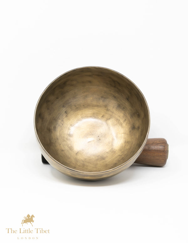 Natural Tibetan Plain singing bowl-Meditation Bowl and Himalayan Healing bowl-SA101