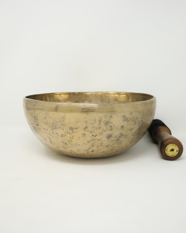 Plain Tibetan Singing Bowl for Mediation and yoga-Chakra Healing bowl -SA20