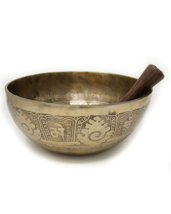 Tibetan Singing Bowl T92, The Little Tibet