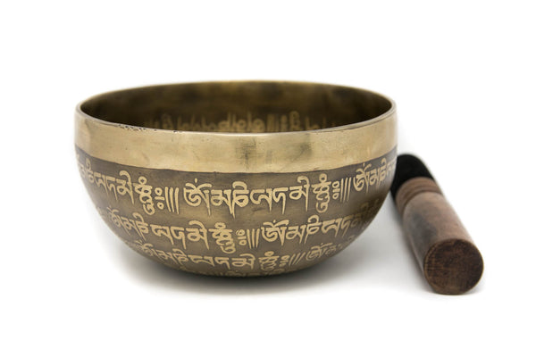 Tibetan Singing Bowl YD41, The Little Tibet