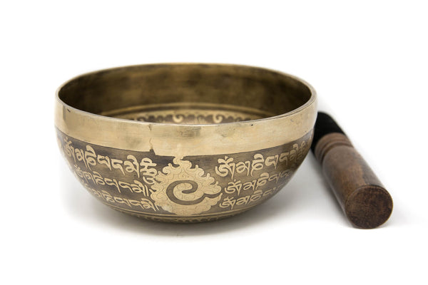 Tibetan Singing Bowl YD74, The Little Tibet