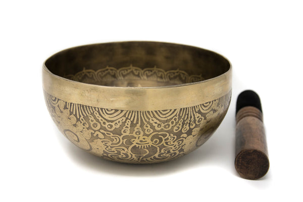 Tibetan Singing Bowl YD84, The Little Tibet