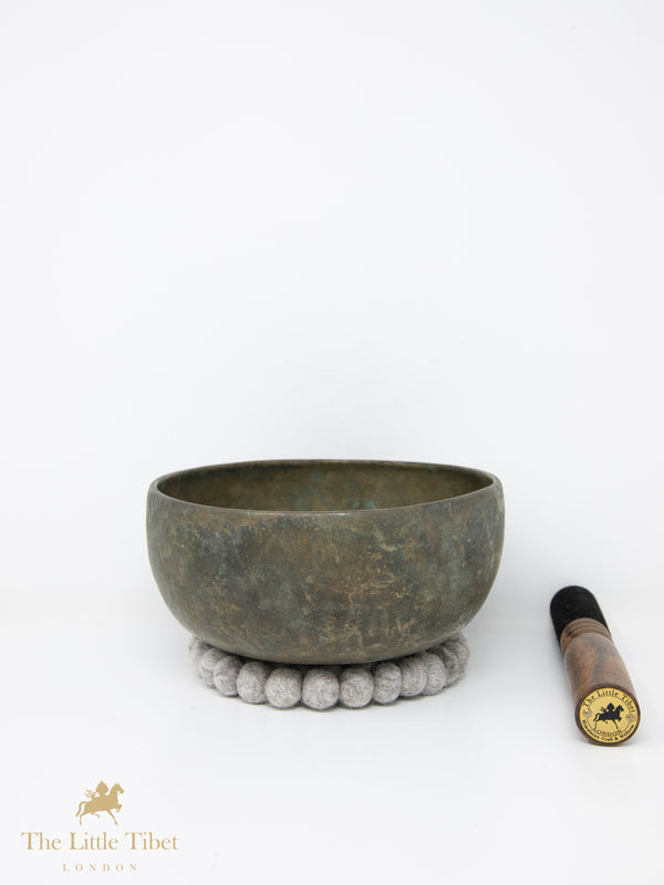 Antique Tibetan Singing Bowl-Healing Bowl-Himalayan Bowl for Meditation-ATQ50-The Little Tibet