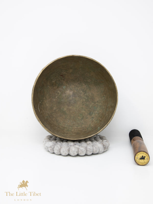 Antique Tibetan Singing Bowl-Healing Bowl-Himalayan Bowl for Meditation-ATQ23-The Little Tibet