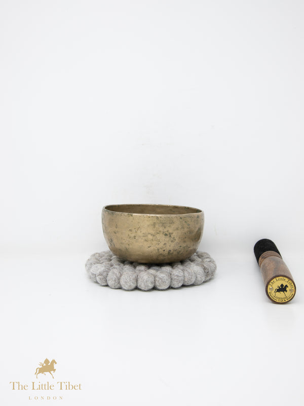 Antique Tibetan Singing Bowl-Healing Bowl-Himalayan Bowl for Meditation-ATQ131-The Little Tibet