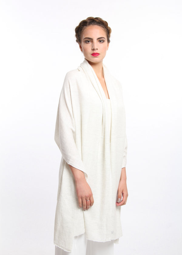 White Cashmere Shawl, The Little Tibet