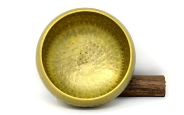Medium size Tibetan Singing Bowl, Brass Bowl -T316