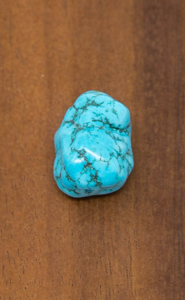 1 BEAD Tibetan Chunky Turquoise Beads - T29 - The Little Tibet