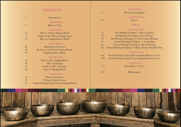Content of The Tibetan Singing Bowl book: A step-by-step sound therapy guide, The Little Tibet