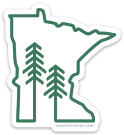 Minnesota Forest + Trees Sticker