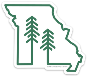 Missouri Forest + Trees Sticker